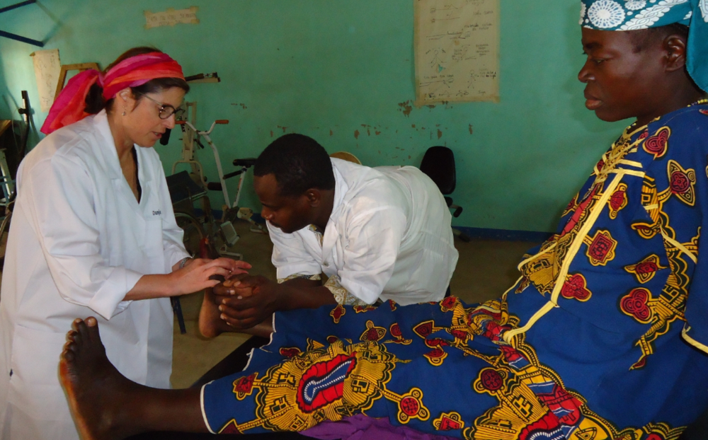 Physical Therapy for a women with fistula, Danja Niger
