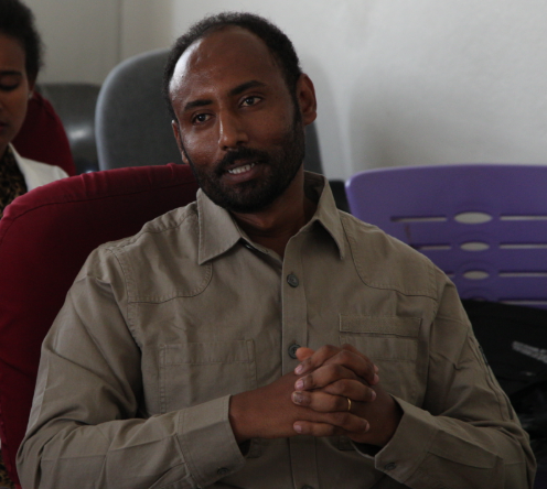- Kiflom Negash is a masters physical therapy student at Mekele University in Mekele Ethiopia. He and his colleagues are receiving training through the faculty at Washington University in St. Louis.