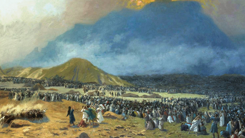 Introduction to the Old Testament, Part 2:  Lessons from Mount Sinai