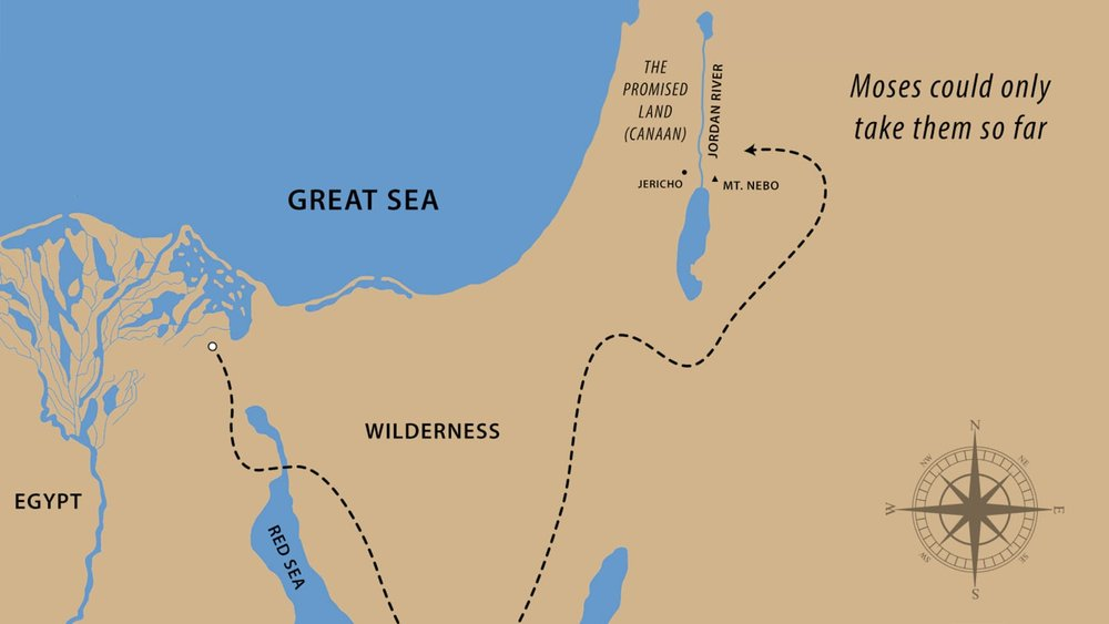 The Exodus Map - A Parable of the Christian Life
