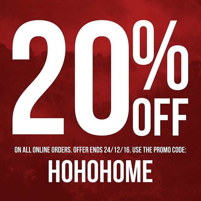 Christmas is just around the corner so we are offering 20% Off all Australian and international orders. Simply use the offer code: HOHOHOME at checkout. Offer ends 24/12/16 hgcollective.com Twitter: hg_collective Facebook: /hgcollective  Instagram: @hg_collective  #hgcollective #homegrowncollective #hgc #melbourne #australia #clothingbrand #btyr #original #homie #20percentoff #xmas2016