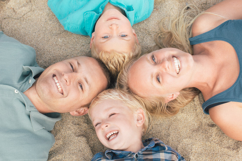 lifestyle family photography santa cruz California sand beach creative