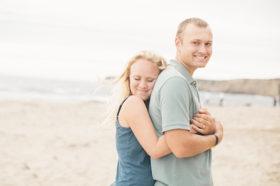 couple photography beach summer cloudy day natural creative candid lifestyle soft romantic