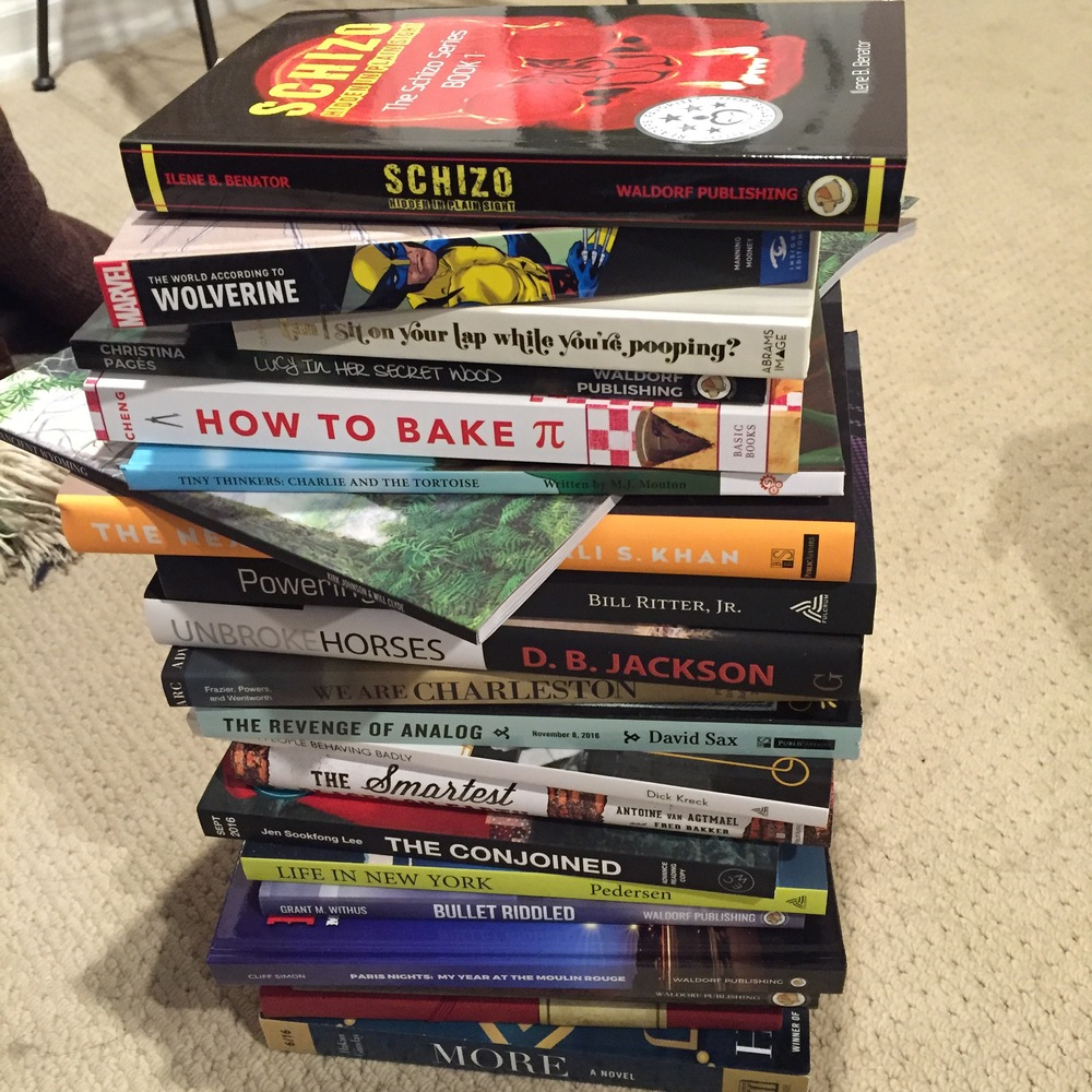 ARC book stack