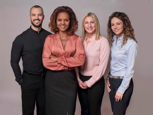 Claudio, Kimberly, Jennifer and Julia
