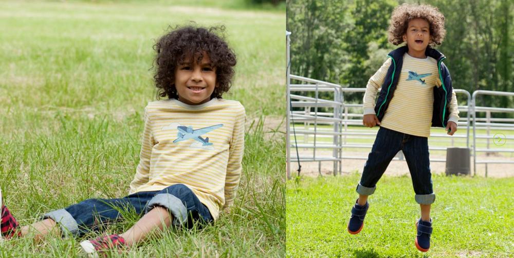 Morgan and Milo Children's wear Freelance Design by Leanne Luce