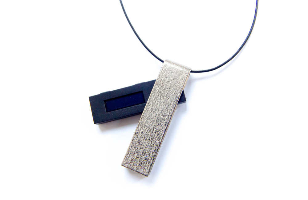 Ledger Nano S Jewelry Encasing by the Fashion Robot, Leanne Luce