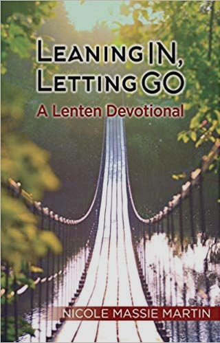 NEW BOOK AVAILABLE NOW! - Sometimes, you need to let go in order to lean in closer to God. In this daily devotional for the Lenten season, bestselling author Nicole Massie Martin takes us on a hope-filled journey of letting go of all that keeps us from experiencing the joy of resurrection. Daily reflections and prayers invite us to lean into God's grace and let go of our own agendas and practices that hold us back from the abundant life God calls us to enjoy and share with the world. Whether this is your first Lenten journey or one of many, Leaning In, Letting Go inspires lasting change for all your journeys to come. Leaning In, Letting Go helps you: Lean into God's grace and let go of our sense of control Lean into God's perspective and let go of our own preconceptions Lean into God's healing and let go of our pain Explore God and ourselves with greater clarity Leaning In, Letting Go includes 40 days of scripture readings, reflections, and prayers, beginning with Ash Wednesday and continuing through the Easter season. Purchase copies for yourself and your entire congregation and prepare for a season of powerful spiritual growth.