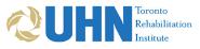 UHN Toronto rehabilitation institute logo