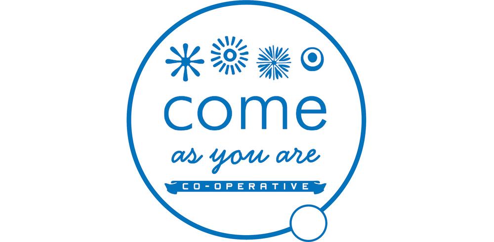 come as you are cooporative logo