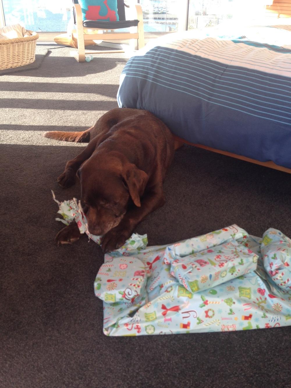 Present Opening
