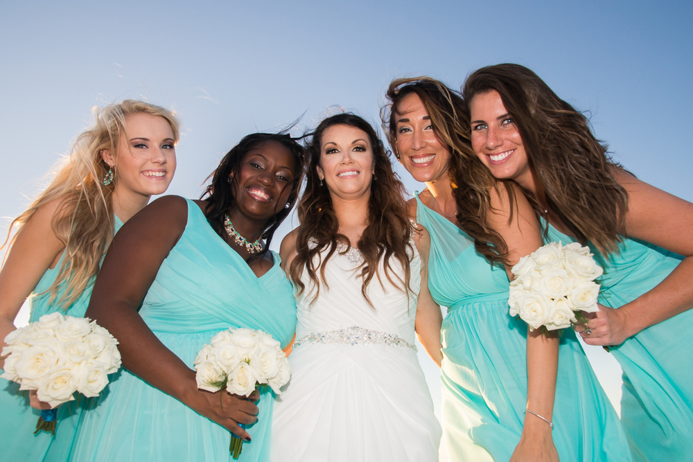 Sand key beach wedding | Mir*Salgado