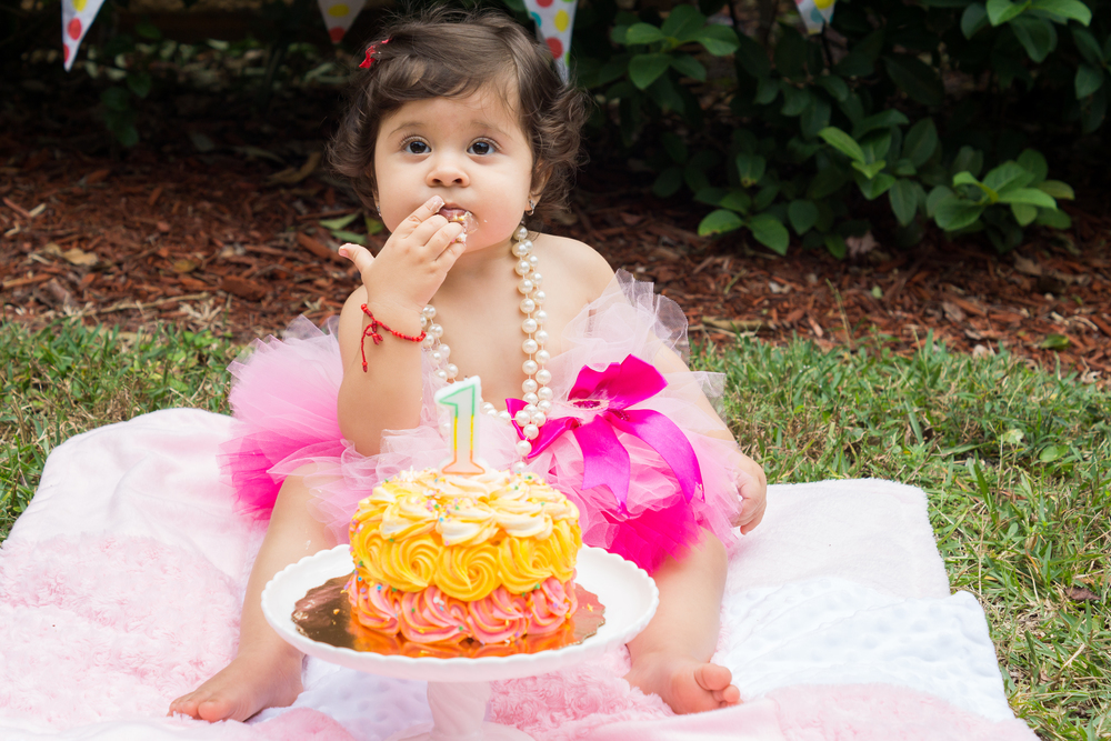 Tampa Smash Cake Session by Mir*Salgado Photography