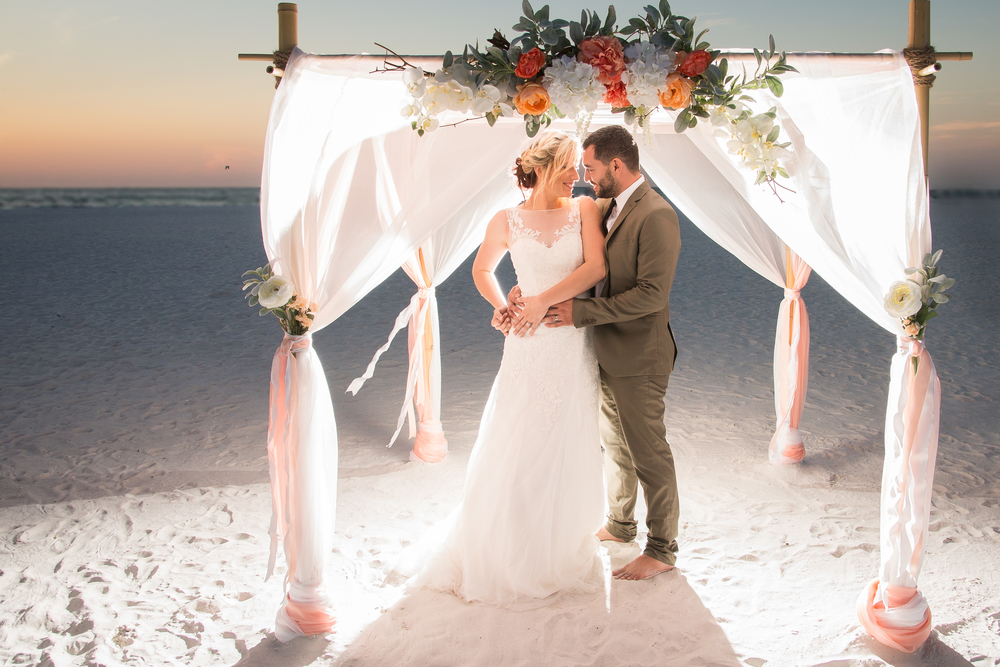 clearwater beach wedding tide the knot tampa wedding