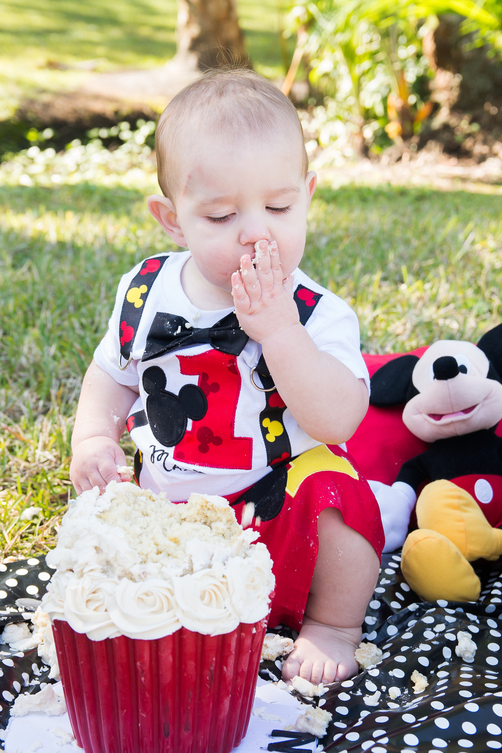 Smash Cake session, Mickey Mouse