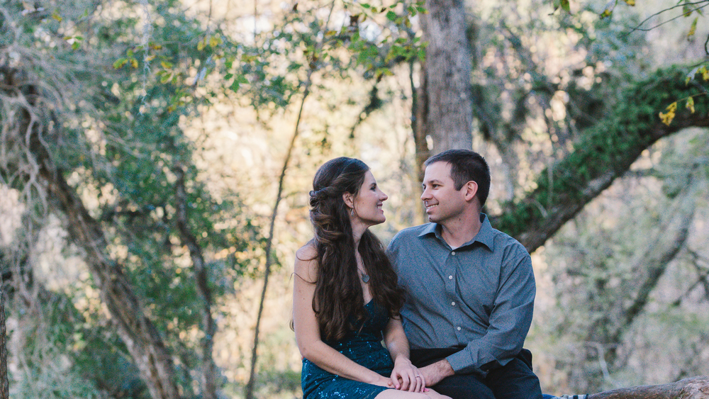 tampa romantic engagement session