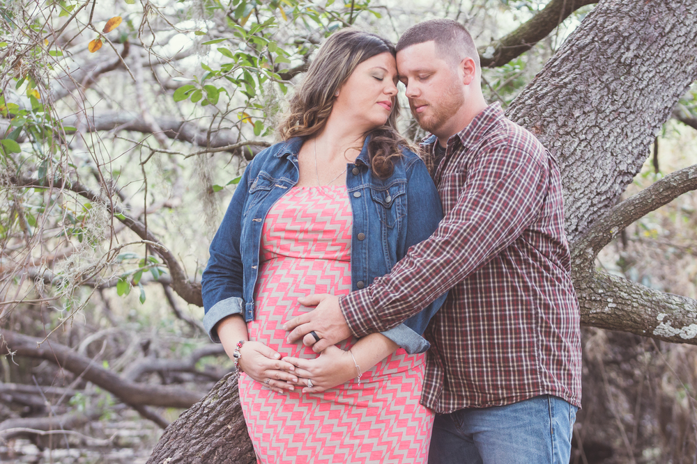 Tampa Maternity session at the Crews Lake Wilderness Park
