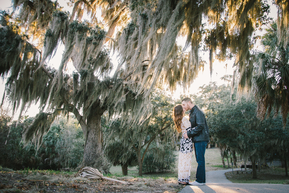 Tampa engagement session at the Phillipe Park, tampa wedding photographer