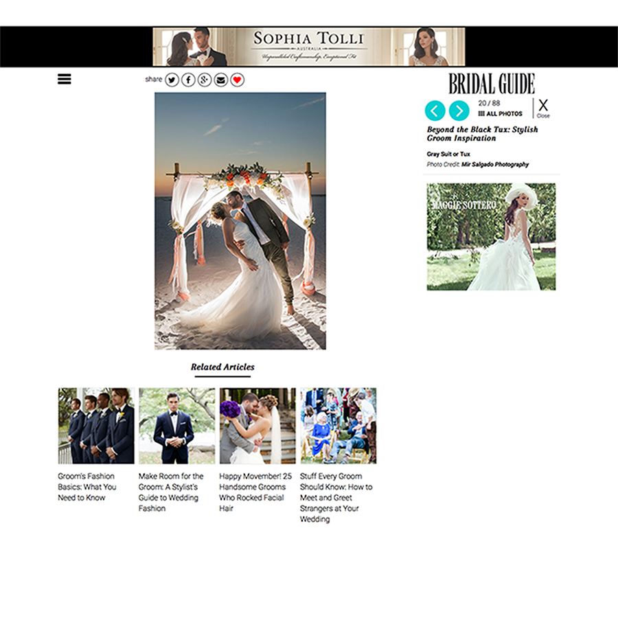 Bridal Guide published
