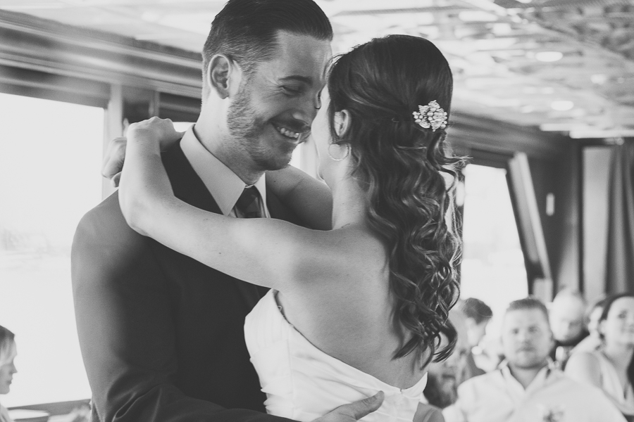 St.Pete wedding photographer, Yacht intimate wedding at the Starlite