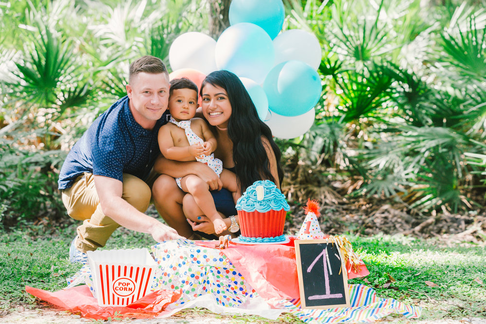 Tampa smash cake session | Tampa photographer | Tampa wedding photographer