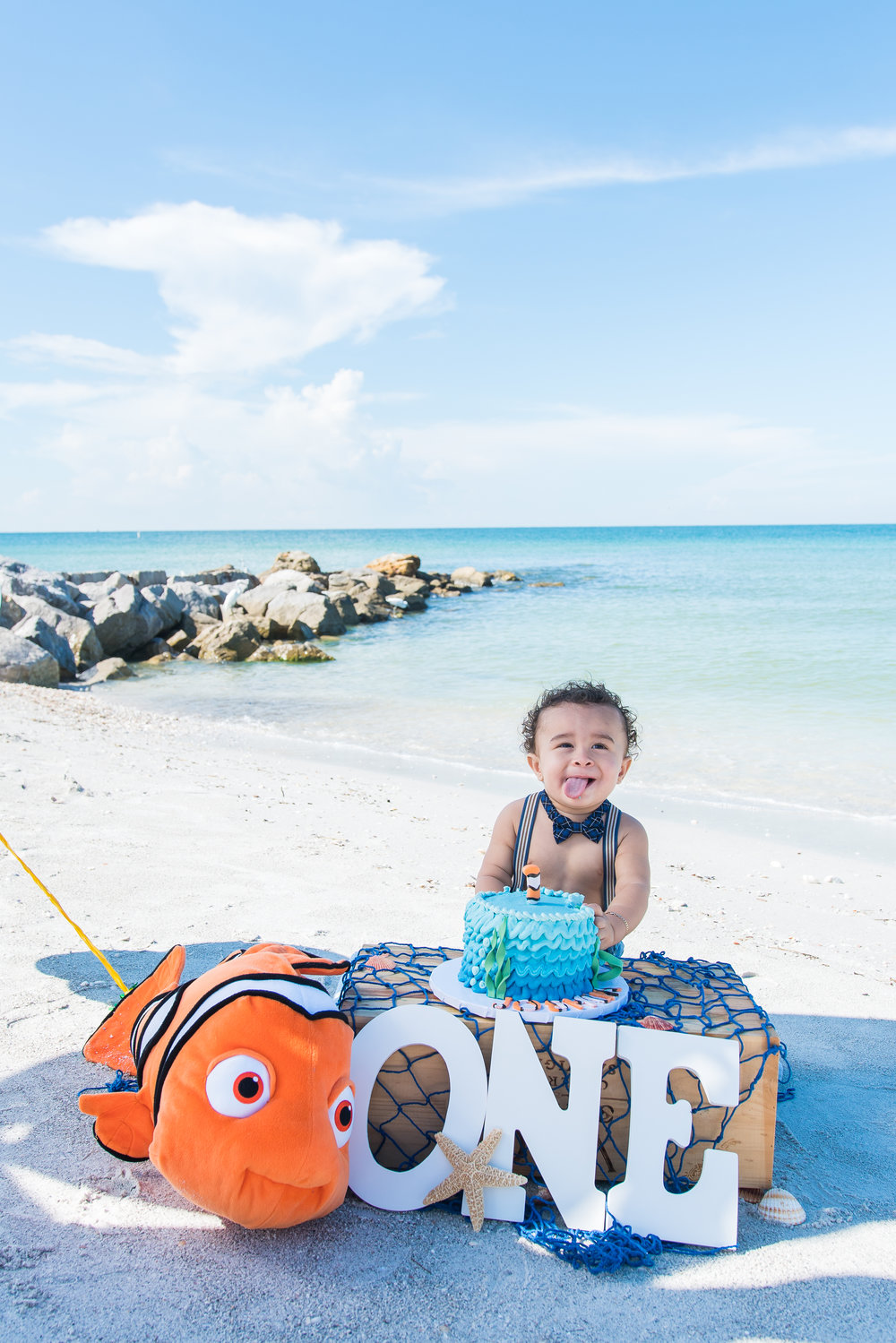 Smash cake session, Tampa photographer ,Tampa kids