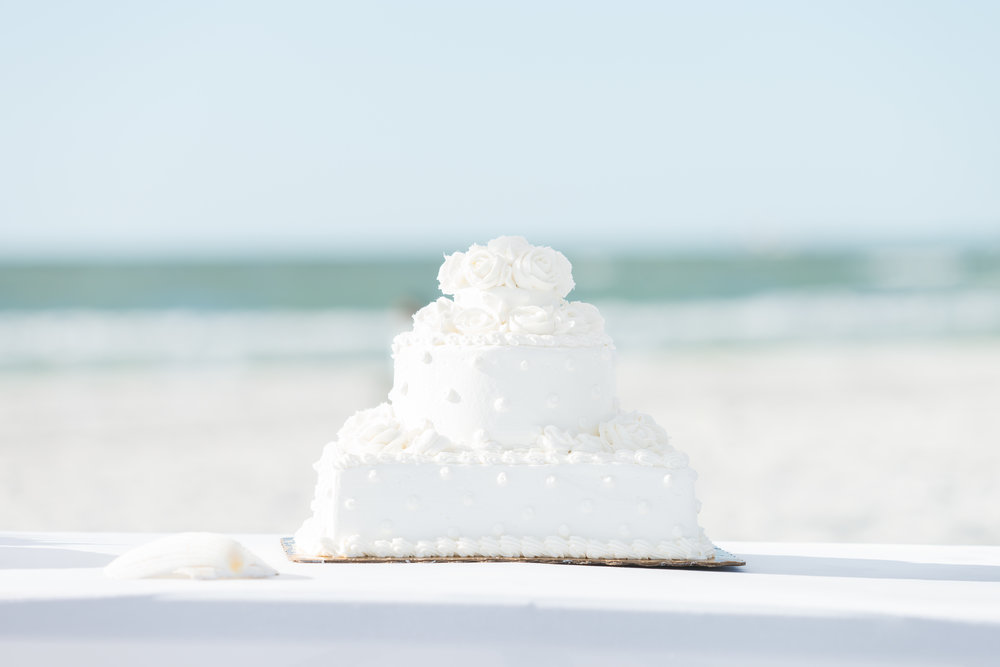 Wedding cake, St.Pete wedding photographer, St.Pete wedding, St.Pete beach, tide the knot beach weddings, mir salgado photography, Tampa wedding photographer