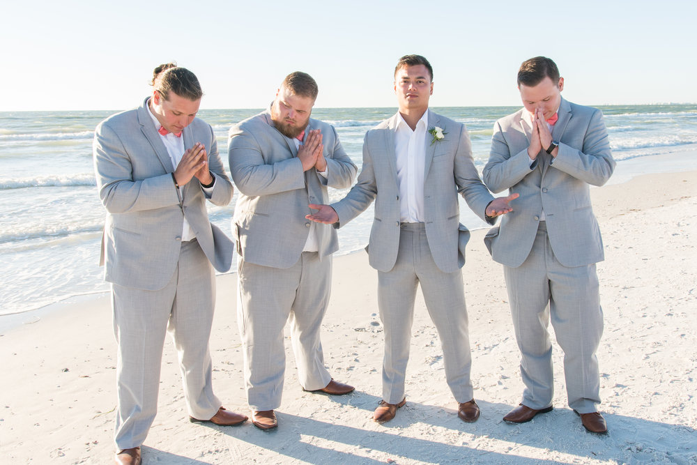 groosmen & groom, St.Pete wedding photographer, St.Pete wedding, St.Pete beach, tide the knot beach weddings, mir salgado photography, Tampa wedding photographer