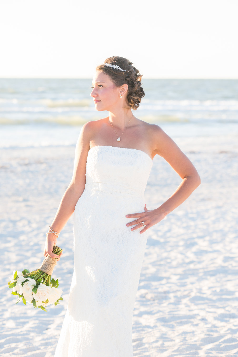 Bride portrait, St.Pete wedding photographer, St.Pete wedding, St.Pete beach, tide the knot beach weddings, mir salgado photography, Tampa wedding photographer