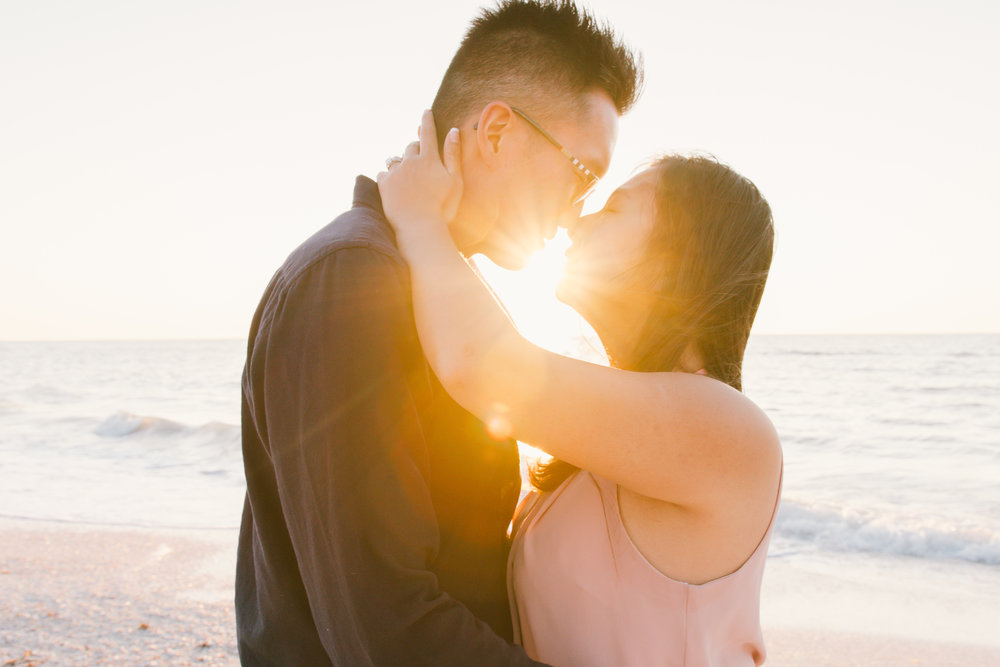 Beach engagement session, Tampa engagement, Clearwater engagement session. St.Pete engagement