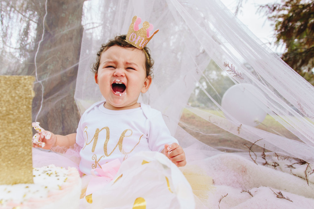 Gold Cake Smash Session, cake smash photography, birthday photography, Tampa family session, Tampa photographer, Tampa family photographer, Tampa wedding photographer, St.Pete photographer, Tampa baby photographer
