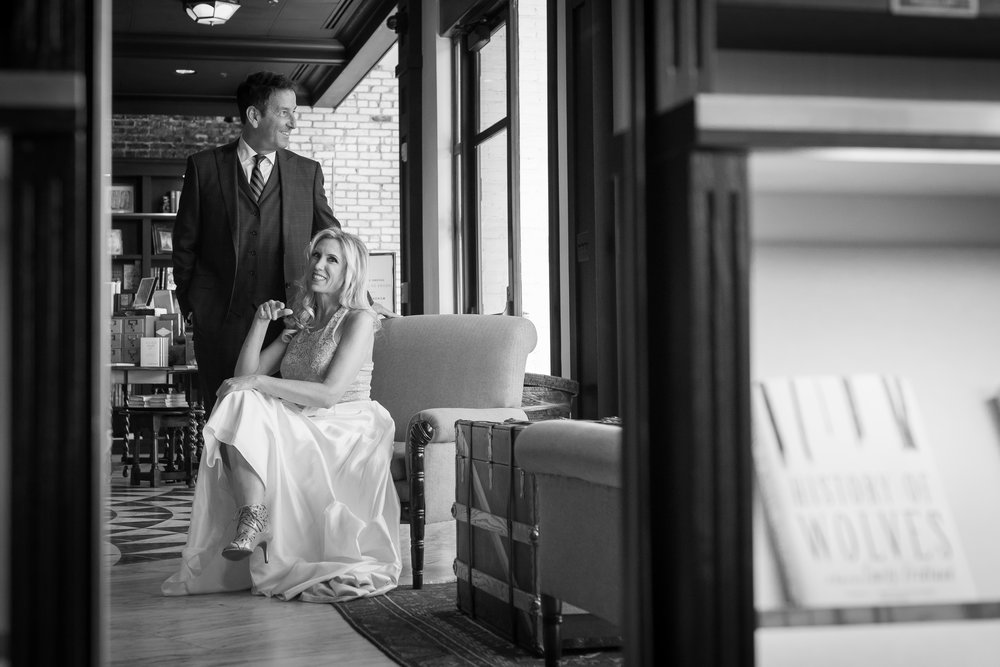 Tampa oxford exchange wedding