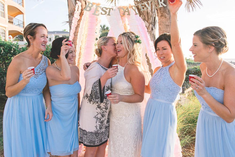 bride-and-bridesmaids-beach-wedding