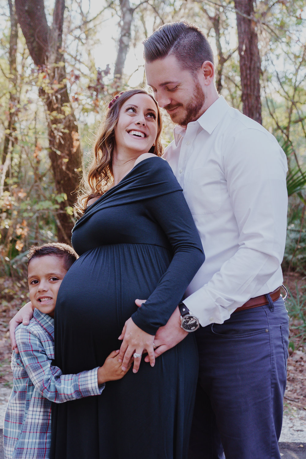 Tampa-family-photo , Lettuce-lake-park-maternity-photos