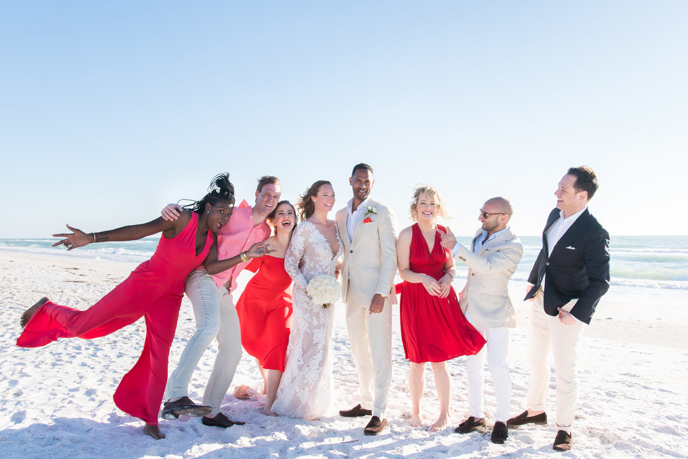 bradenton-beach-wedding-photographer, bridal-party-photo
