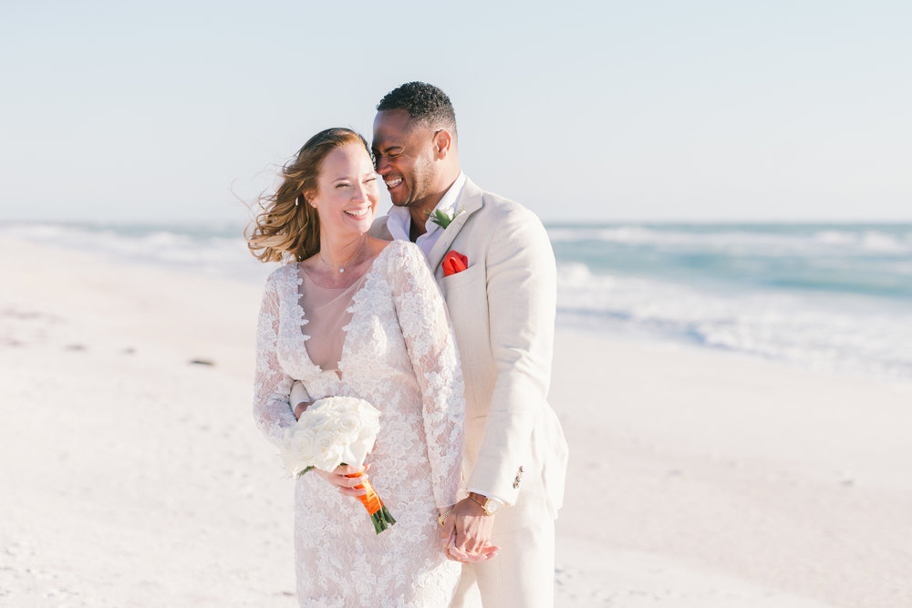 Florida-beach-wedding-photographer, Bradenton-beach-wedding