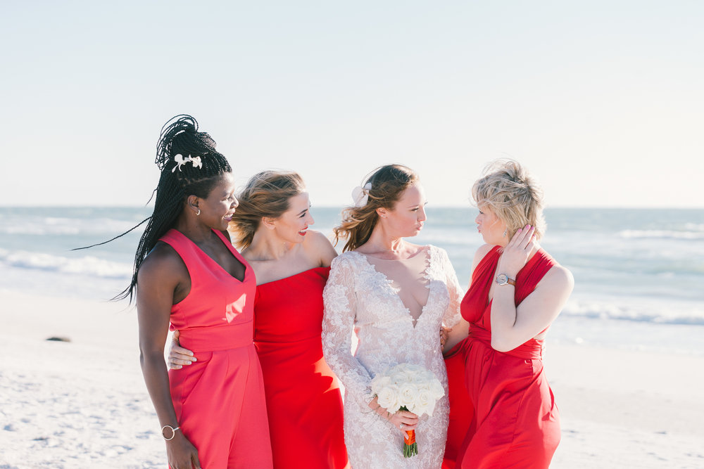 bride-and-bridesmaids-photo, beach-wedding-photographer, Florida