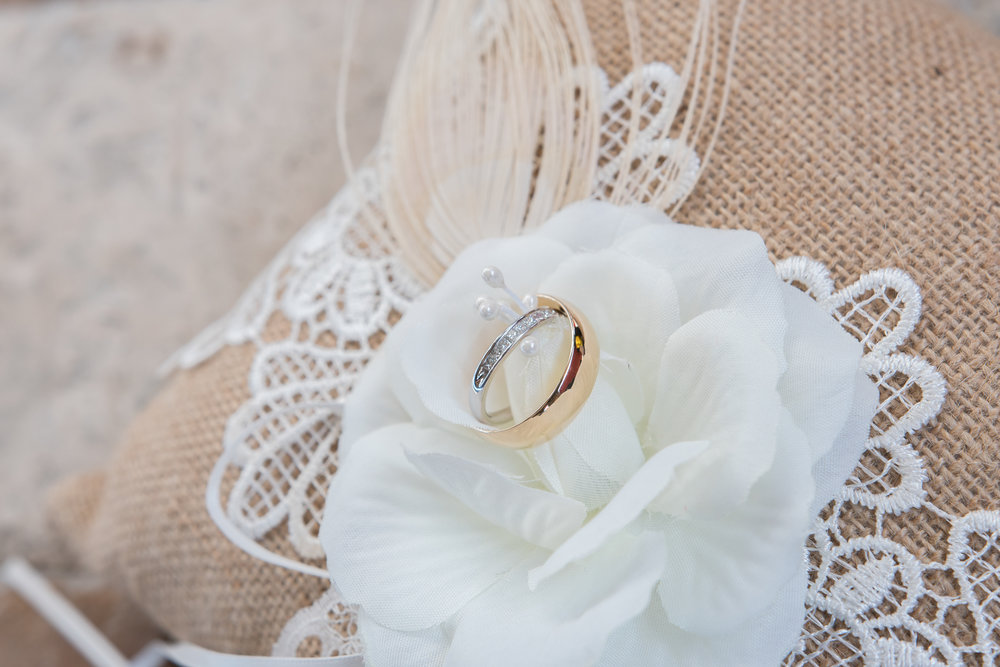beach-wedding, ring-shot, St.Pete-wedding-photographer