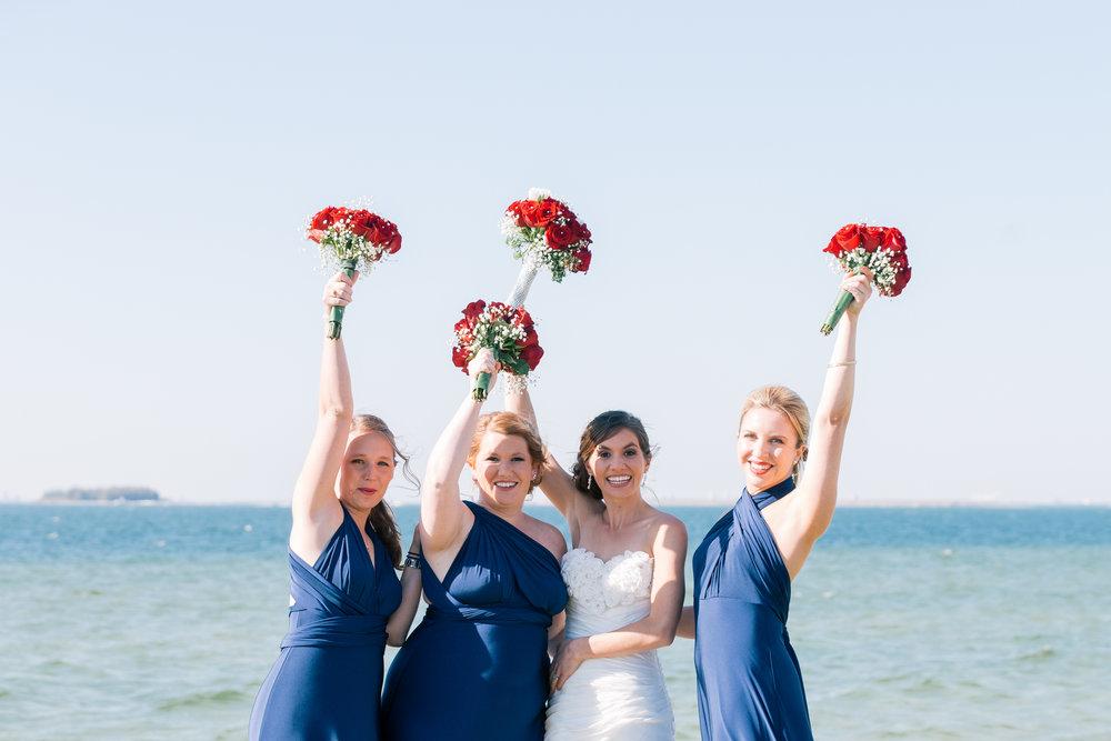 Apollo-beach-wedding, Bridesmaids-photography-Tampa