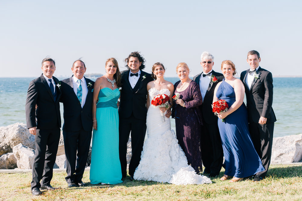 Apollo-beach-wedding-family-photo, Tampa-wedding-photographer