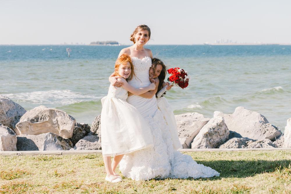 Apollo-beach-wedding-photography, flower-girls-wedding-photo