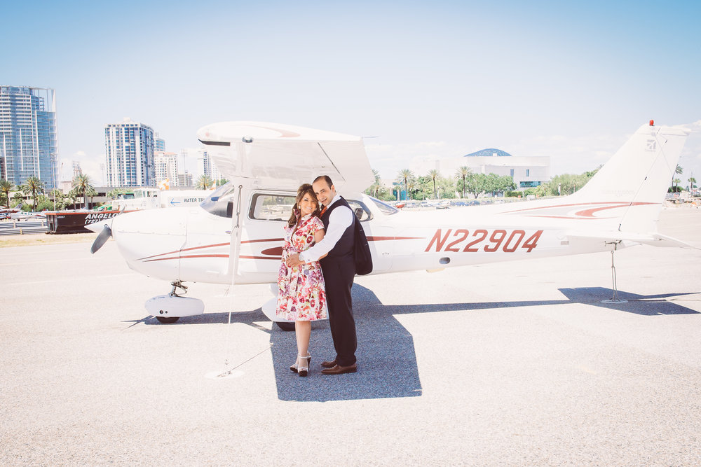 St.Pete-airport-engagement-session, St.Pete-wedding-photographer