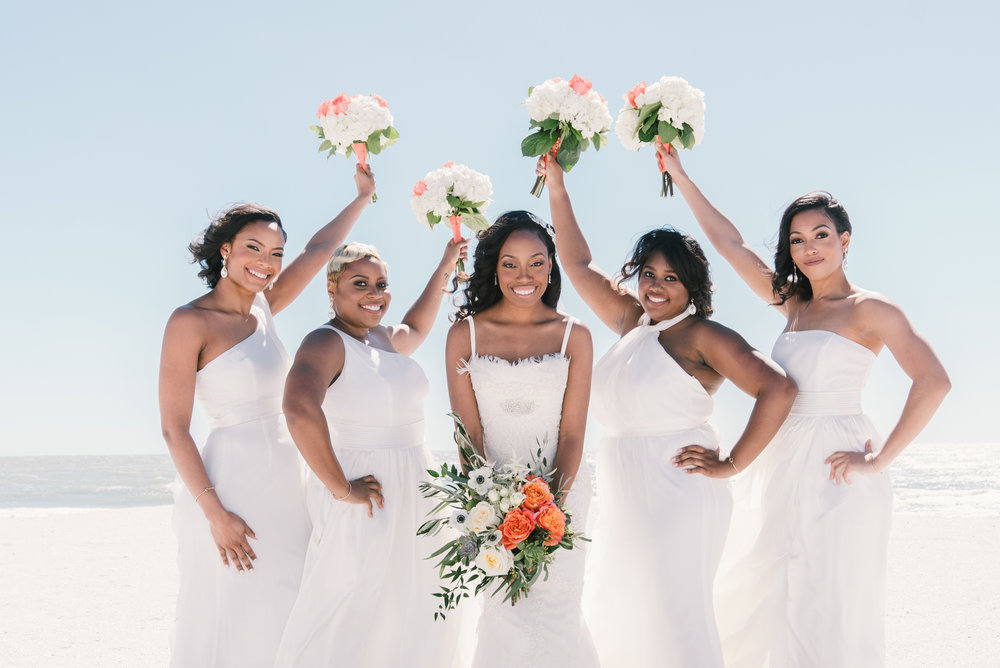 bride-and-bridesmaids-photo, St.Pete-wedding-photography