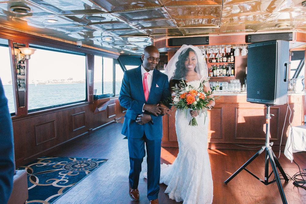 St.Pete-wedding-ceremony, Yacht-wedding-ceremony