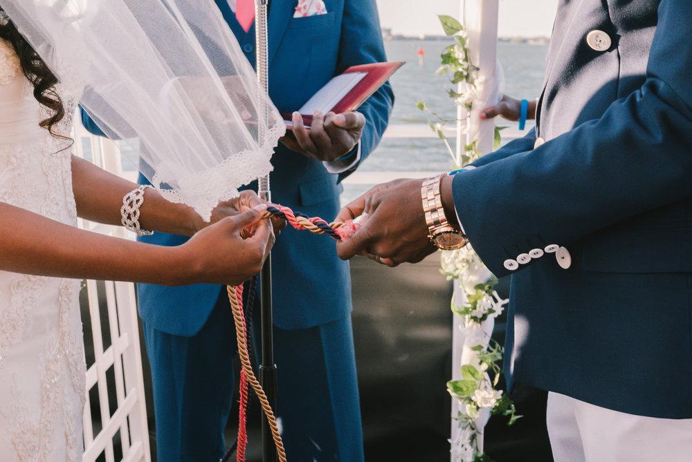 St.Pete-wedding-photographer, Yacht-wedding-ceremony