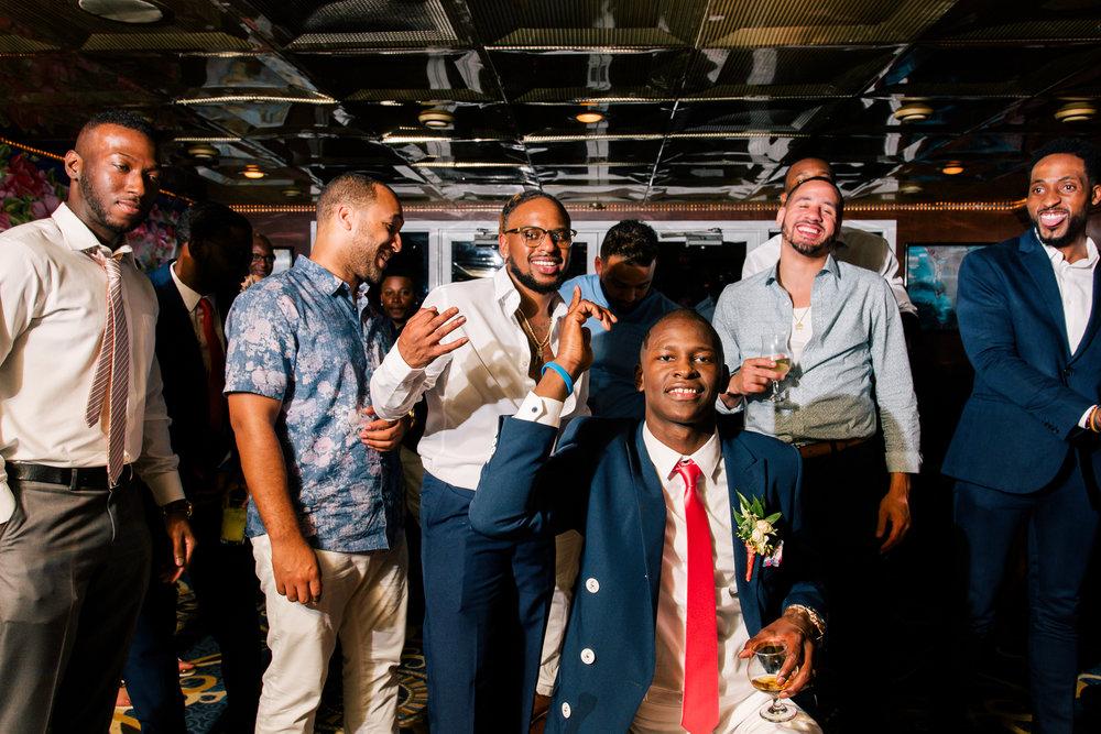 St.Pete-wedding-reception, Stalite-Dinner-Yacht-wedding-reception