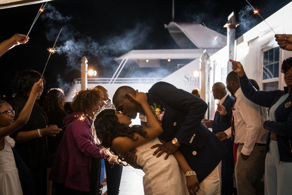 St.Pete-wedding-photographer, Sparkle-exit