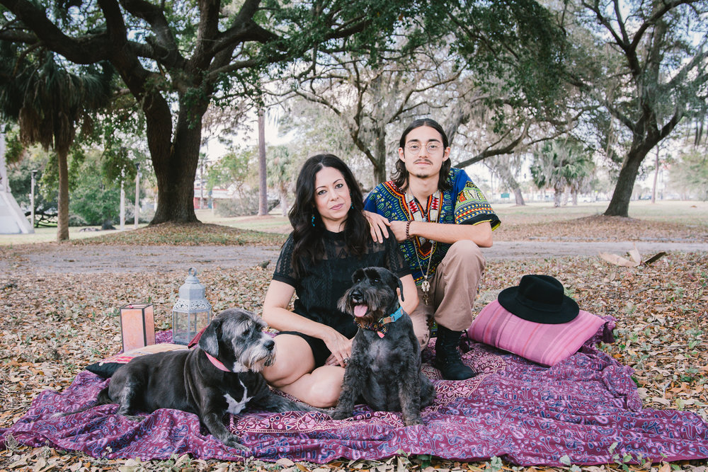 Seminole-heights-family-session, boho-style-session
