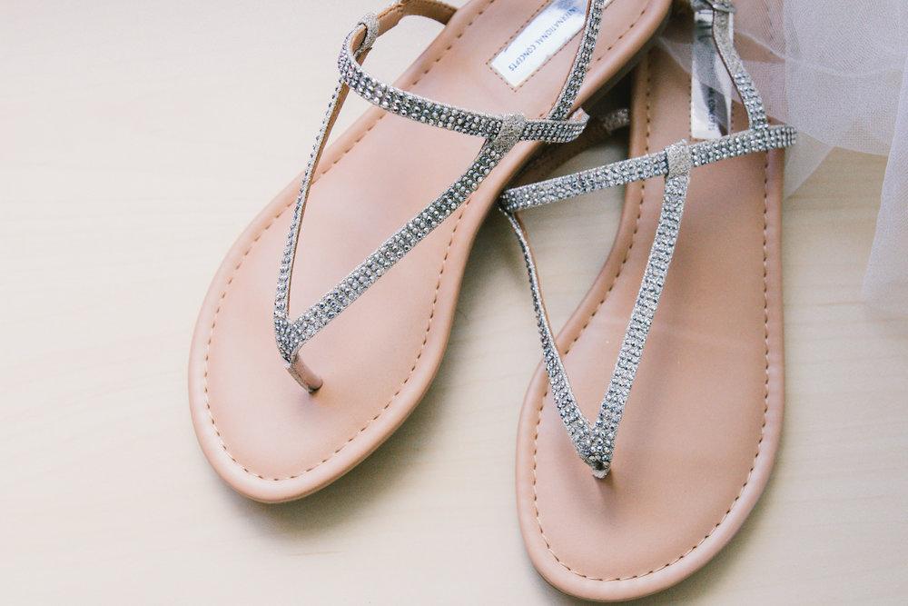 st.pete-beach-wedding-sandals, tampa-wedding-photographer