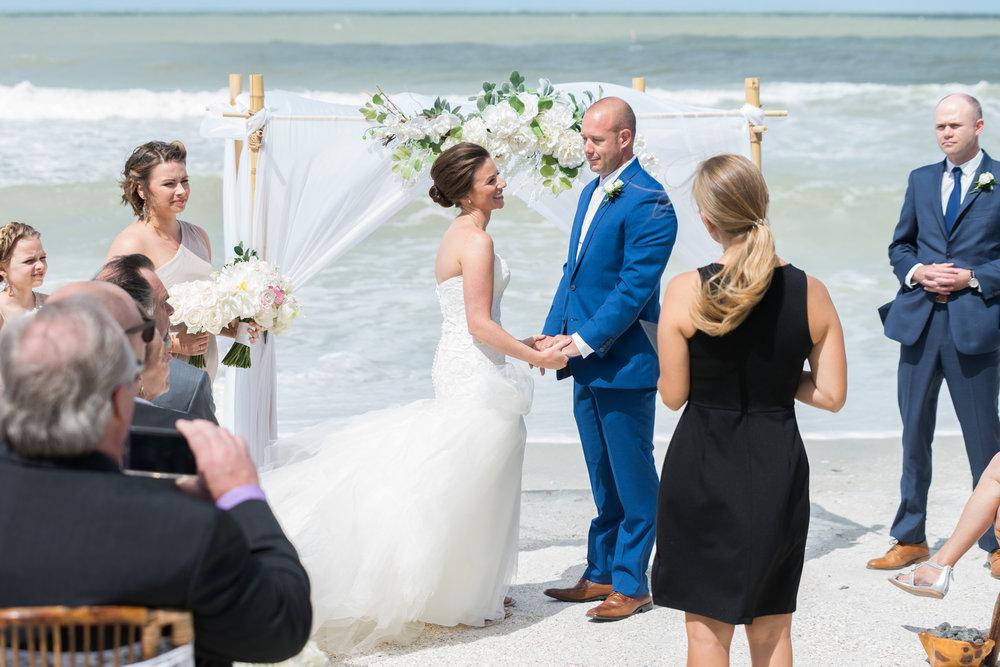 st-pete-beach-wedding-ceremony, tampa-wedding-photographer